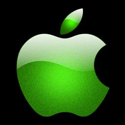 水晶苹果logo图标下载图片
