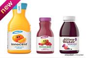 果汁瓶子3D模型效果图