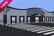 壁挂式书架3D模型