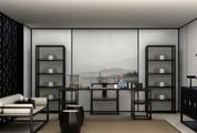 白色真皮沙发3D模型
