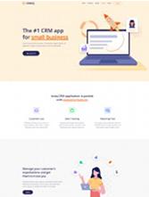 web前端开发公司网站模板