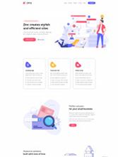牙科口腔医院HTML5模板